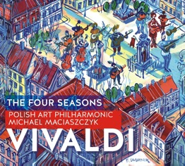 CD Antonio Vivaldi - The Four Seasons